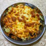 Изображение Цветная капуста, запеченная под сыром
